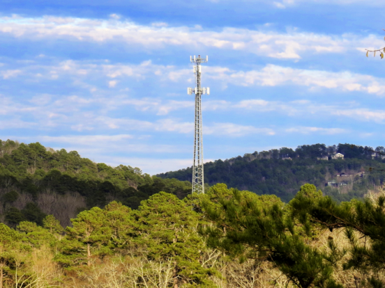 Cell Tower in Hot Springs Village Growing in the Forest