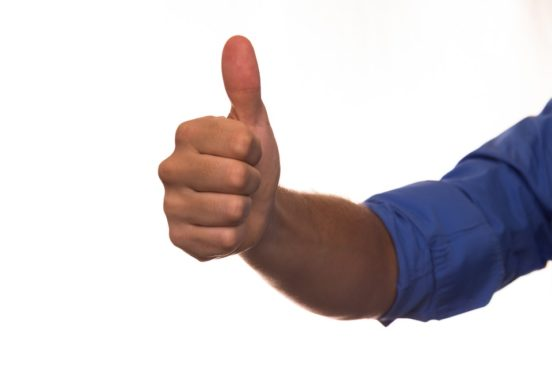 Thumbs up good luck new board members