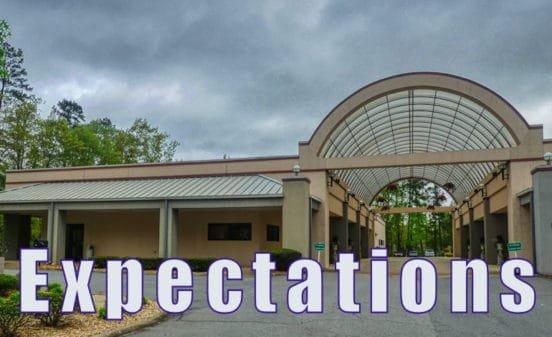 Hot Springs Village Ponce de Leon Center expectations