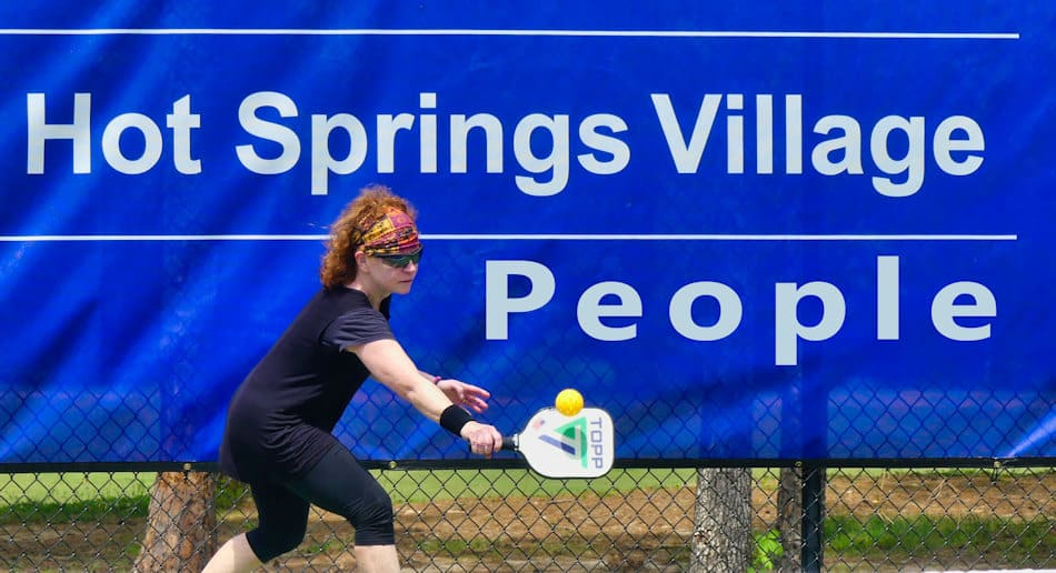 hot springs village people pickle ball