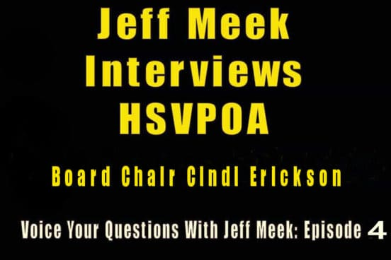Jeff meek interviews Hsvpoa board chair cindi erickson