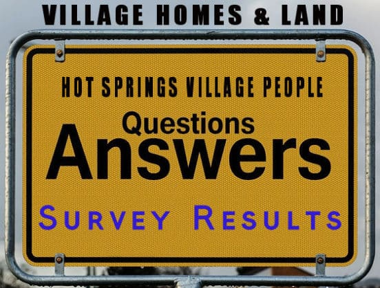 HSVPOA Village Homes and Land Survey Results