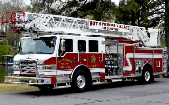 hot springs village fire truck