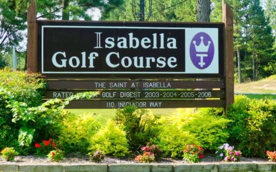 isabella golf course hsv