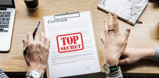 top secret contract hsvpoa