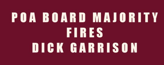 board director dick garrison fired