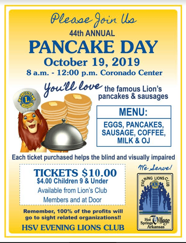 lions club pancake day flyer hsv 2019