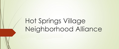 hot springs village neighborhood alliance