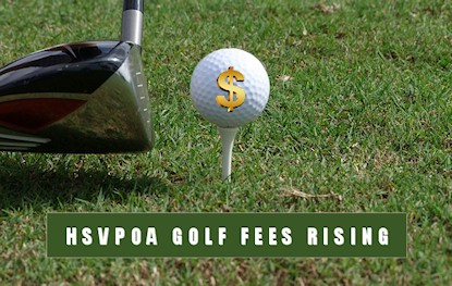 golf fees rising hsvpoa