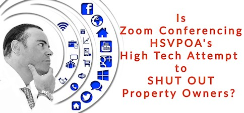 hsvpoa shuts out property owners with zoom conferencing app