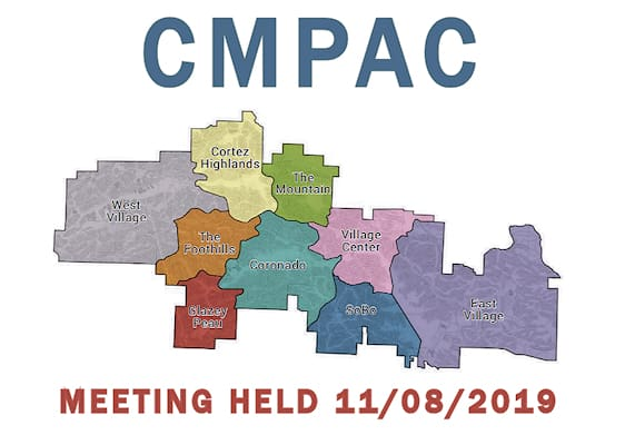 hot springs village cmpac meeting 11/8/19