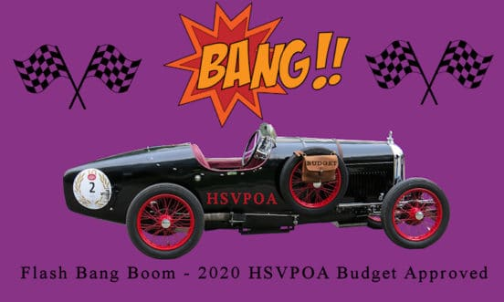 hsvpoa pass budget flash bang boom