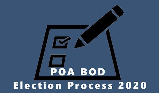 hsv poa board election process 2020