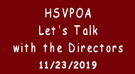 hsvpoa 11-23-19 lets talk meeting
