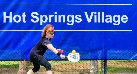 hot springs village pickleball challenge 2020