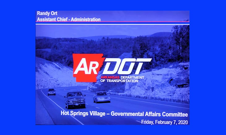 HSV Governmental Affairs Committee ARDOT Report