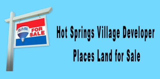 CCI Places Land for sale in Hot Springs Village