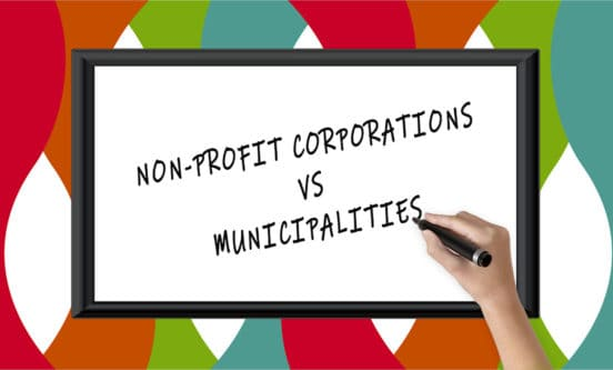 HSVPOA NON-PROFIT CORPORATIONS VS MUNICIPALITIES