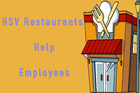 employees helped by hsv restaurants