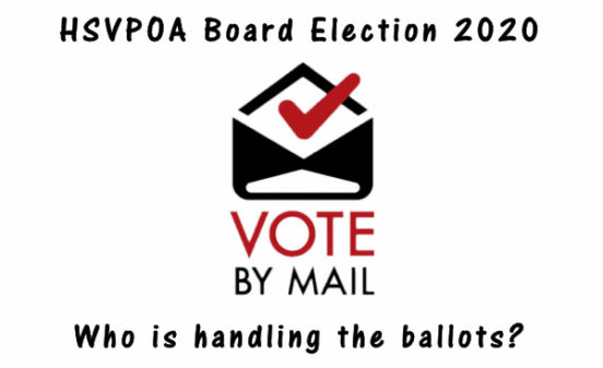 2020 HSVPOA BOD Election