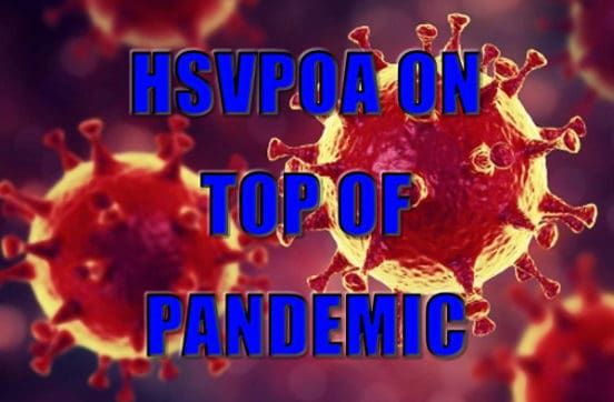 hsvpoa on top of pandemic crisis