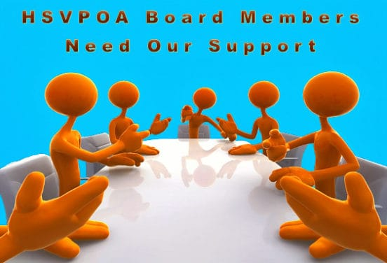 HSV POA Board Members Need Our Support