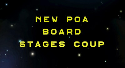 New HSVPOA Board Stages Coup