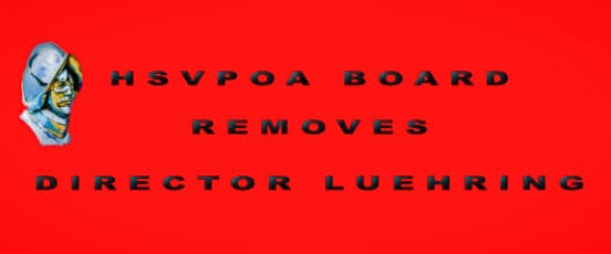 Breaking News HSVPOA Board Removes Director Luehring