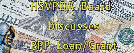 PPP Loan Grant Discussed at HSVPOA Board Meeting