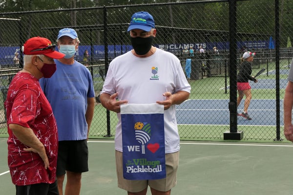 HSV Pickleball Club Food Drive to feed the hungry