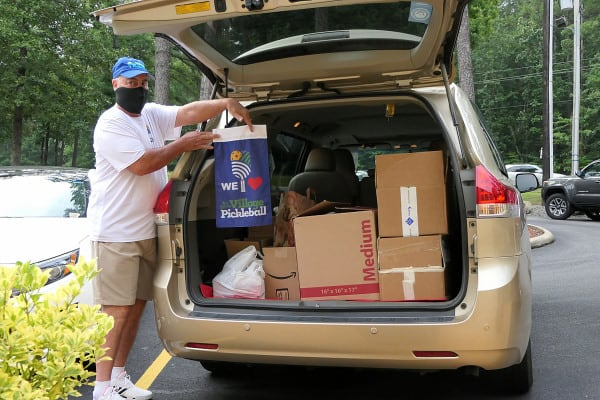 HSV Pickleball Club Food Drive for Boys and Girls Club