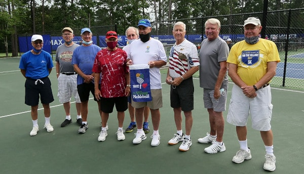 Hot Springs Village Pickleball Club holds Food Drive for the Cedar Mountain Boys and Girls Club.