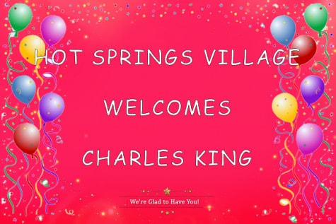 hot springs village meet and greet charles king covid-19 style