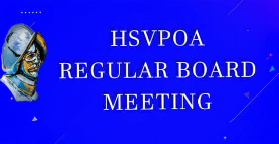 HSVPOA Board Meeting 8-19-20 Audio Only