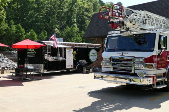 Kroc-Coo's Rolling Cajun Kitchen holds First Responder Appreciation Lunch
