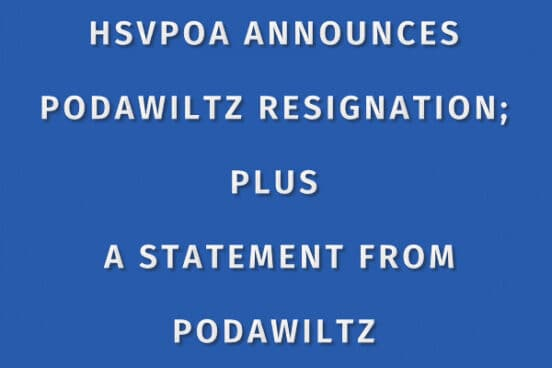 Podawiltz resigns from HSVPOA BOD statement from Board and Podawiltz Statement