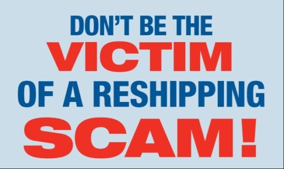 Hot Springs Village beware of reshipping scams