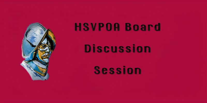 HSVPOA Board Discussion Session cover pic