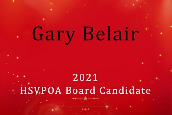 Gary Belair Hot Springs Village Board Candidate 2021