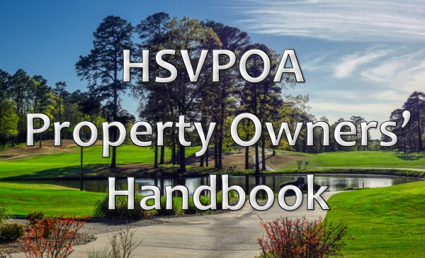 Hot Springs Village Property Owners Handbook