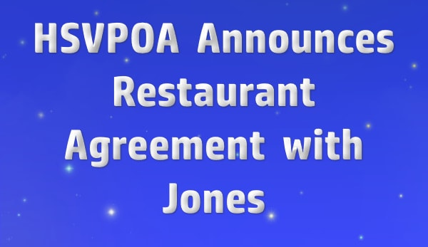 Hot Springs Village Property Owners AssociationAnnounces Restaurant Agreement with Jones