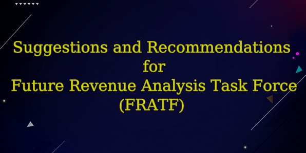 HSVPOA Tom Blakeman Suggestions & Recommendations for FRATF
