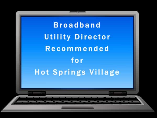 Governmental Affairs Committee Recommends HSVPOA Hire Broadband Utility Director