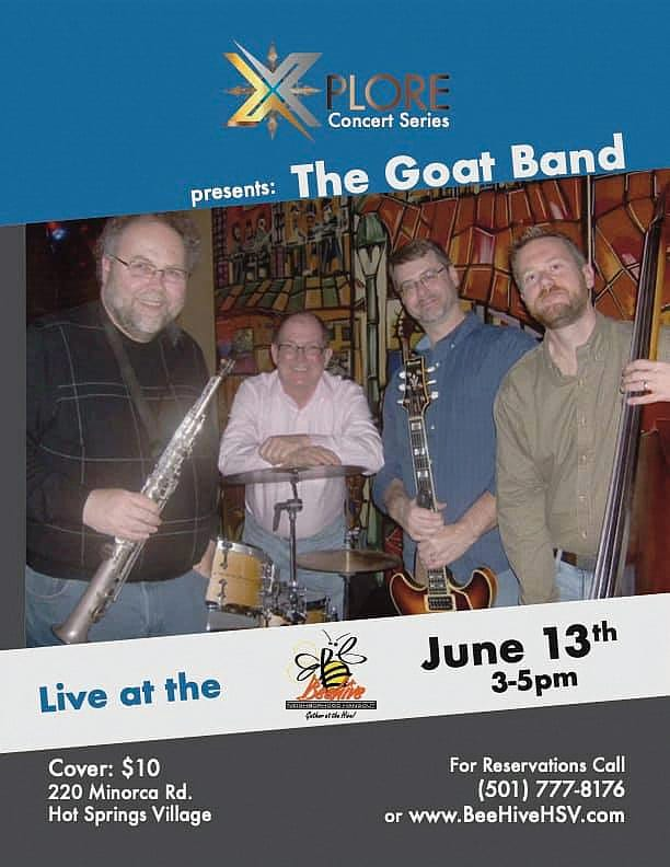 Goat Band Coming to Hot Spring Village Poster