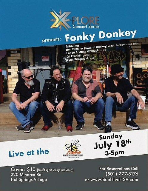 Fonky Donkey Live at HSV Beehive Sunday July 18