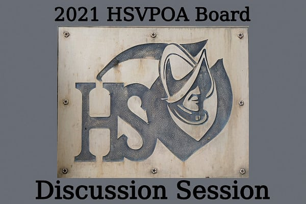 Hot Springs Village POA Board Discussion Session 7-7-21