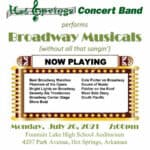 hot springs concert band summer series 2021