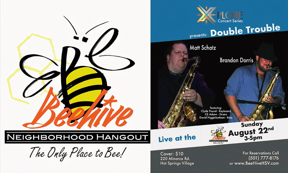 Xplore Beehive Continues Jazz Concert Series August 2022 Hot Springs Village