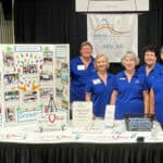 Altrusa Booth at 2021 Arkansas Heritage Festival