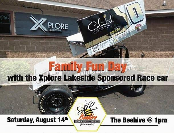Cool Family Event at Hot Springs Village Beehive with Race Driver Mike Vaculik
